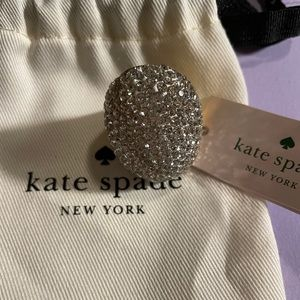 Kate Spade mood ring clear size 6 NWT
